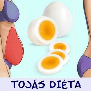 TOJÁS DIÉTA – Két hét alatt mínusz 5 – 7 kiló!