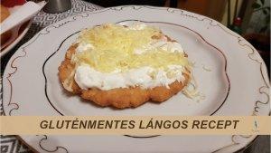 glutenmentes langos RECEPT