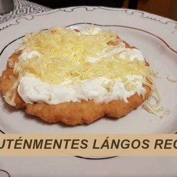Gluténmentes Lángos Recept – Krumplis (laktózmentes változatban is)