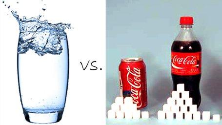 Mit szeretnél inkább, egy pohár tiszta vizet, vagy egy Cola-t?